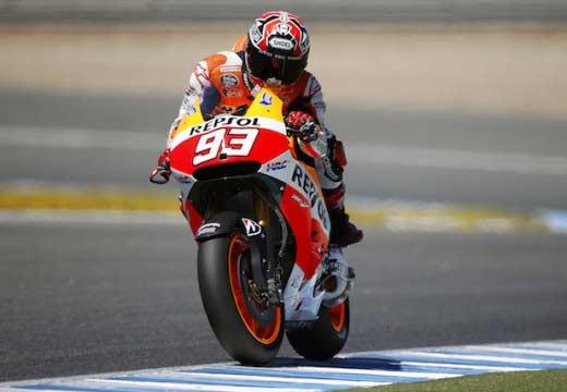 Jornada de test en Jerez tras el Gran Premio de España
