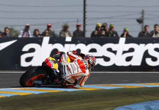 Los Márquez y Salom marcan la pauta en el primer día en Le Mans