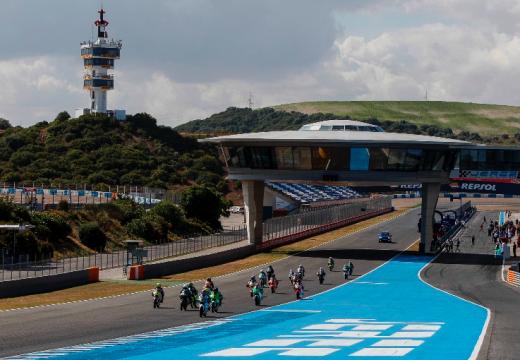 Emocionantes carreras en la Copa de España celebrada en Jerez