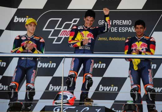 Joan Mir gana la segunda carrera de la Rookies Cup en Jerez