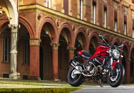 Ducati anuncia la Monster 821