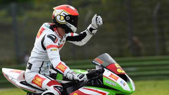 Faccani vence con autoridad en Superstock600 en Imola