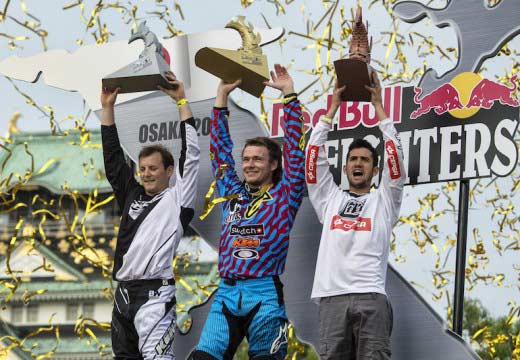 Sherwood gana la prueba de Osaka del Red Bull X-Fighters