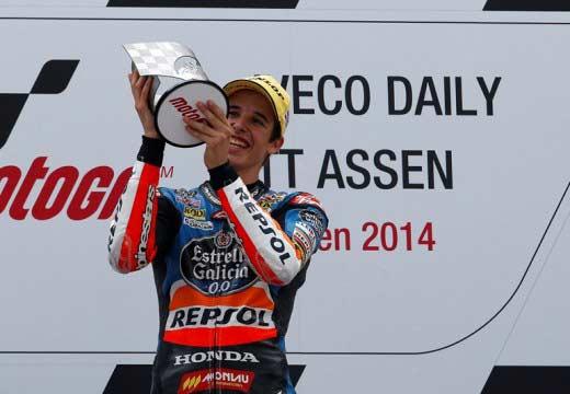 GP Holanda 2014: Alex Márquez inaugura el día con su victoria en Moto3