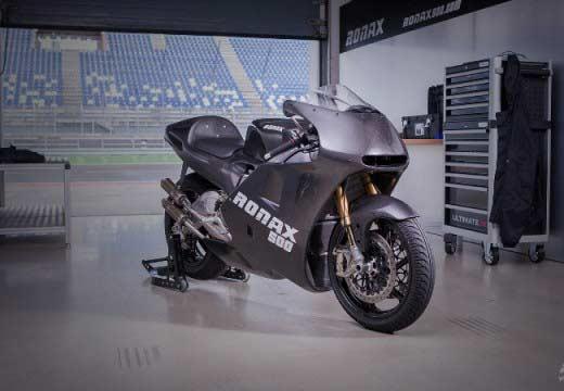 Siente el pasado de MotoGP con una Ronax 500