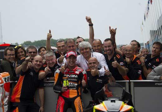 GP Holanda 2014: Poles para Miller, Aleix y Rabat