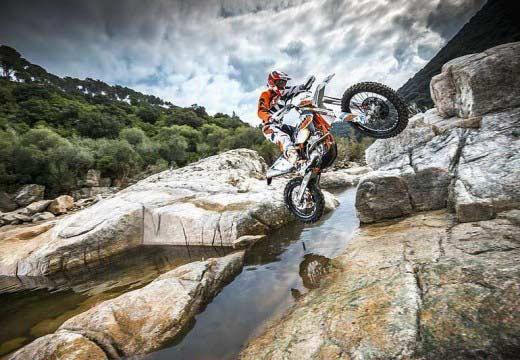 Anuncialda la gama KTM Enduro 2015