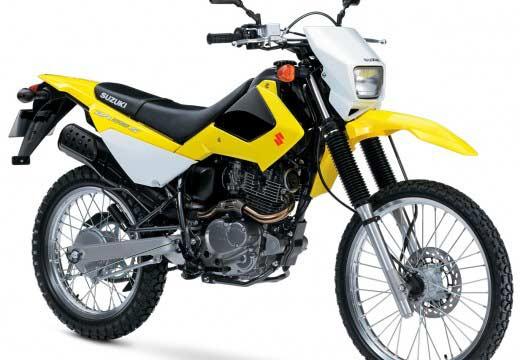 Suzuki DR 200 S: pequeña enduro polivalente para América