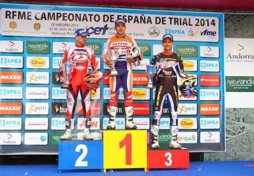 Toni Bou vence en Andorra