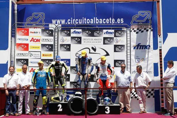 Pódium Open 1000 Albacete.Fotografía Iván Terrón