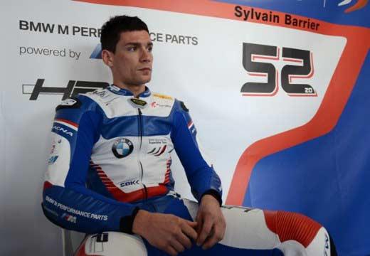 Sylvain Barrier reaparecerá en Misano tras su accidente de coche