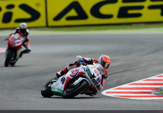 WSBK Misano 2014: Resultados calificación de Supersport