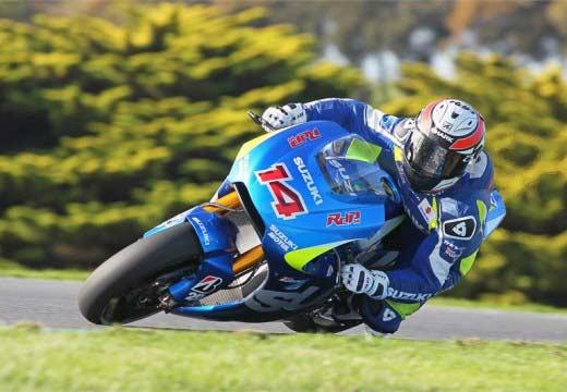 Suzuki completa tres días de test con la MotoGP en Phillip Island