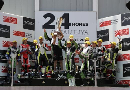 El equipo Hallmotos02 gana las 24 horas de Cataluña