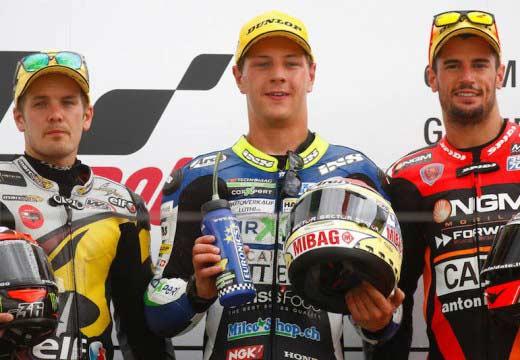 GP Alemania 2014: Aegerter logra su primera victoria en Moto2