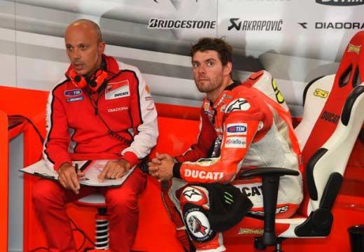 Crutchlow se plantea la salida de Ducati