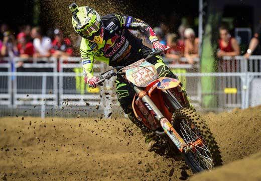 MXGP Bélgica 2014: Anstie y Cairoli destacan en la arena de Lommel