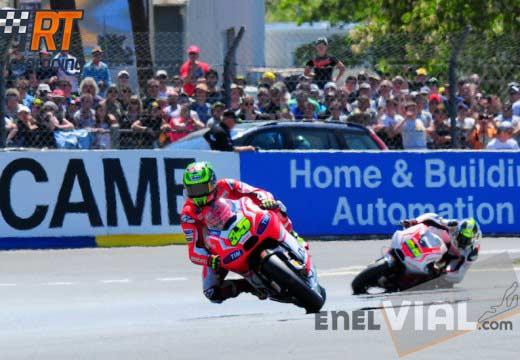 Crutchlow no seguirá en Ducati en 2015