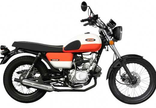 Hanway Raw 50, el ciclomotor vintage