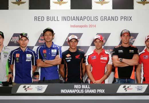 GP Indianápolis 2014: Rueda de prensa