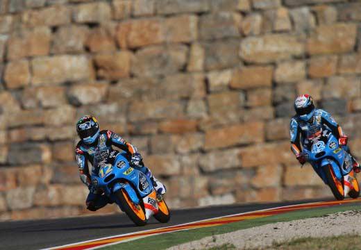 GP Aragón 2014: Rins, Dovizioso y Rabat lideran la combinada del viernes