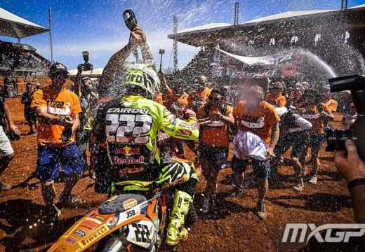 MXGP Goias 2014: Antonio Cairoli suma su octavo título mundial