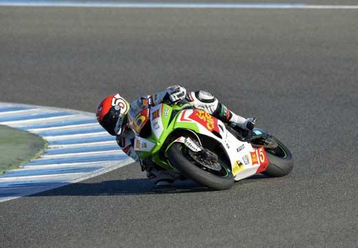 WSBK Jerez 2014: Marco Faccani, nuevo campeón de STK600