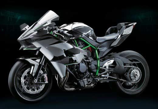 Presentada en el Intermot la Kawasaki H2R