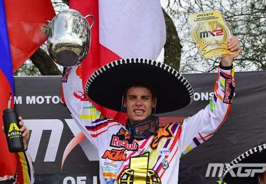 MXGP León 2014: Tixier se proclama campeón del mundo de MX2