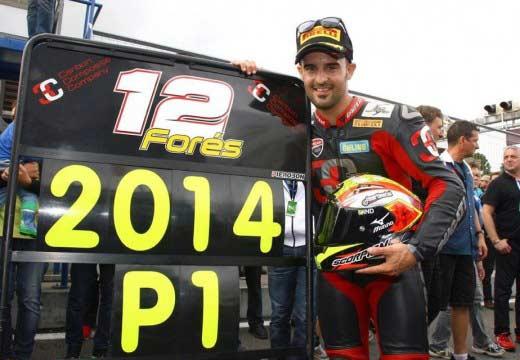 Xavi Forés logra el título alemán de Superbike