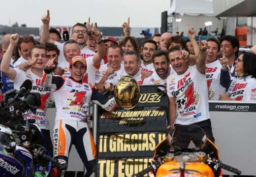 GP Japón 2014: Dominio Márquez, Marc sentencia el título y Álex lo acaricia
