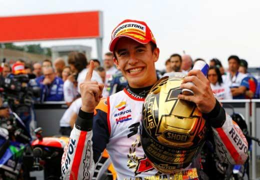 Marc Márquez: «Este título es para agradecer a Honda que me dejase traer a toda mi gente al equipo»