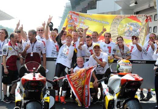 GP Malasia 2014: Tito Rabat campeón del mundo, ganan Efrén, Viñales y Marc