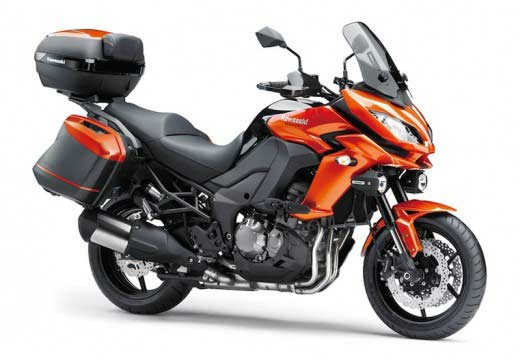 Kawasaki renueva su gama Versys