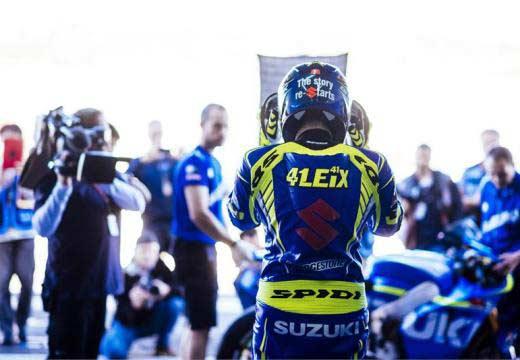 Lowes en SBK y Aleix en MotoGP los más rápidos ayer en Jerez