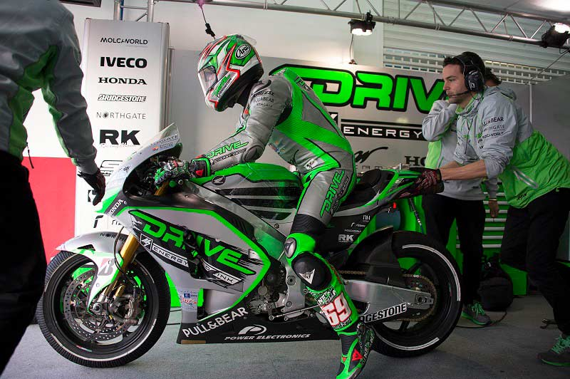 2015 Drive M7 Aspar 001 MotoGP Test Preseason Valencia